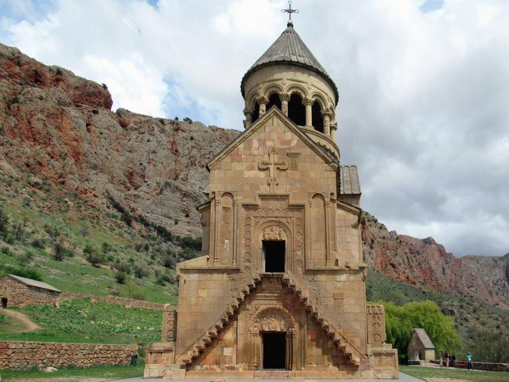 Noravank Monastery, on the edge of the Gnishik Gorge in southern Armenia, is best known for two-story Saint Astvatzatzin Church (1339).
