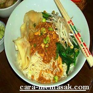 Mie ayam khas Bangka