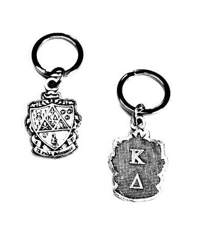 Kappa Delta Keychain . Crest with Greek Letters