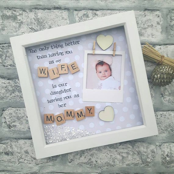 Mum Scrabble Letter Photo Frame Mum Photo Frames Mother/'s Day Gifts Mother/'s Birthday Gifts Personalised Scrabble Frames Mum Gift Ideas