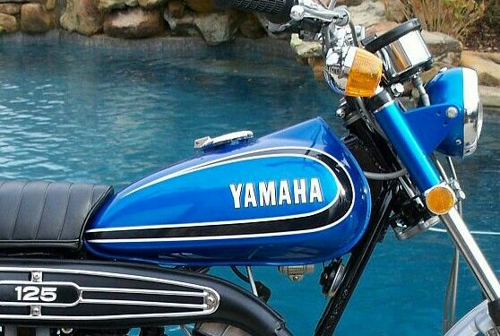 1973 yamaha at3 enduro 125 motorcycle yamaha enduro motorcycle pinterest motorcycles and. Black Bedroom Furniture Sets. Home Design Ideas