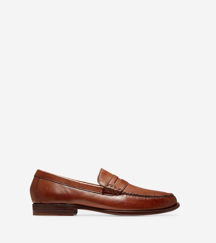 Cole Haan Men's Pinch Handsewn Penny Loafer (British Tan ...