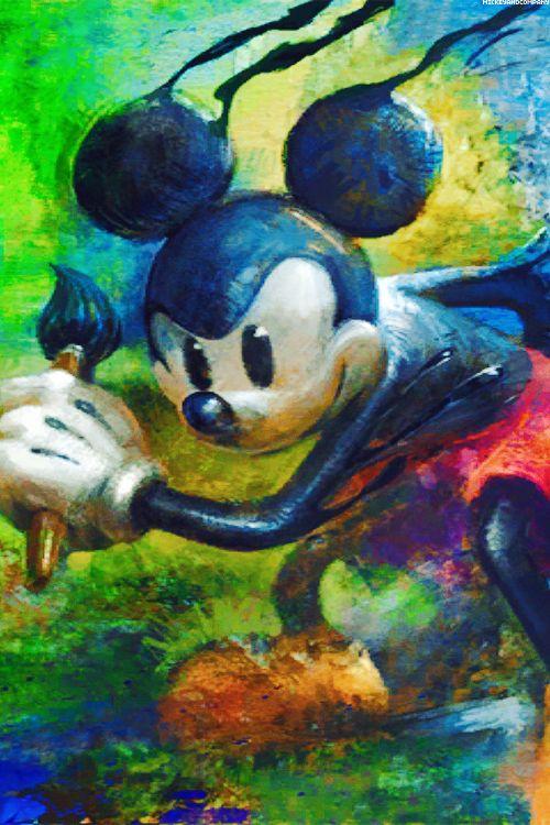 Epic Mickey - disney wallpaper - video game