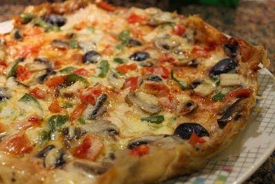 Yufkadan Pratik Pizza