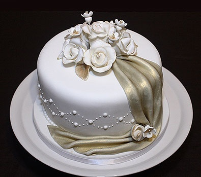 17 Best Images About Single Tier Cakes On Pinterest