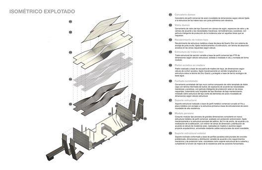 Proposta de Sordo Madaleno & Pascall+Watson para o Novo Aeroporto da Cidade do México, © Sordo Madaleno