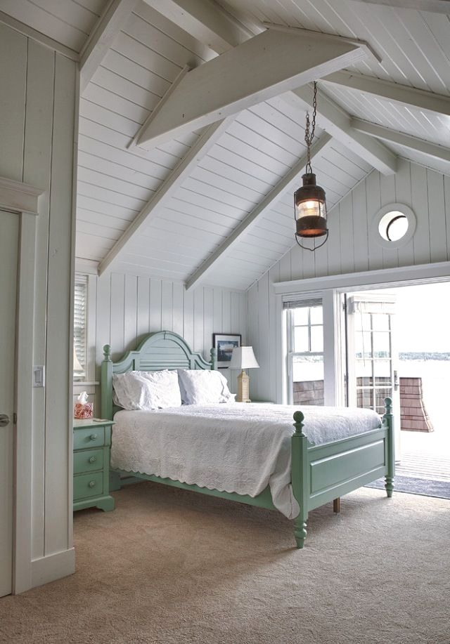 36 Great Exposed Beam Ceiling Lighting Ideas Cottage Style Bedrooms Beach Style Bedroom Cottage Style Interiors