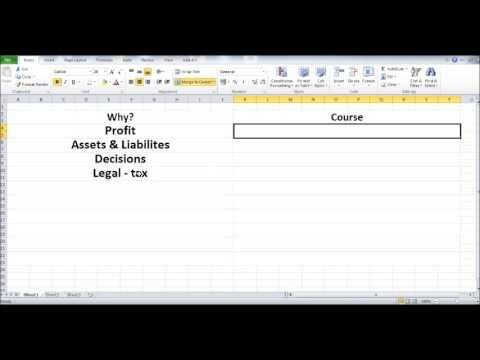 Free Online Bookkeeping Course #1 - Introduction - Why do you need a bookkeeper? - YouTube