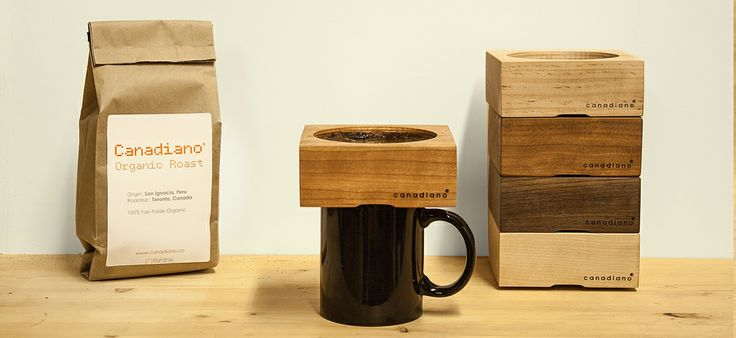 Canadiano. Crafted coffee, personalize.