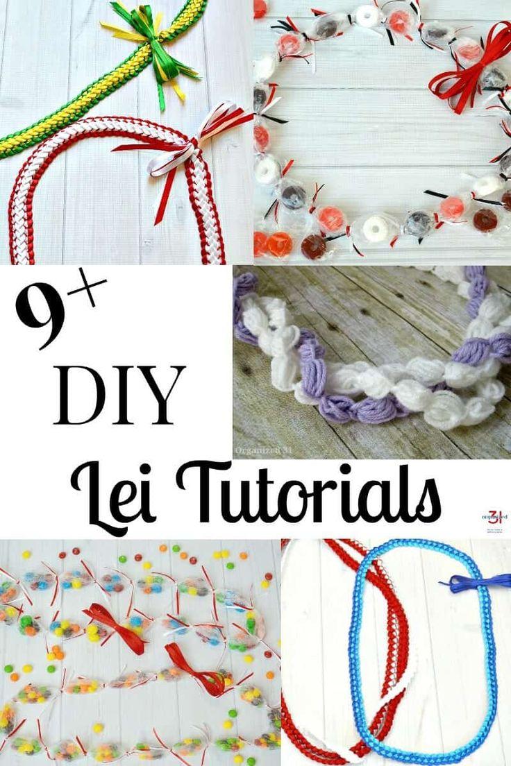 DIY Lei Tutorials & Instructions