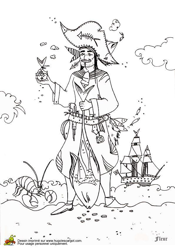 les 72 meilleures images du tableau coloriages de pirates sur
