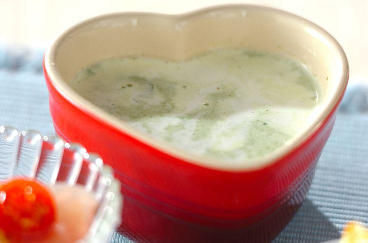クレソンのポタージュ【E・レシピ】料理のプロが作る簡単レシピ/2011.03.21公開のレシピです。