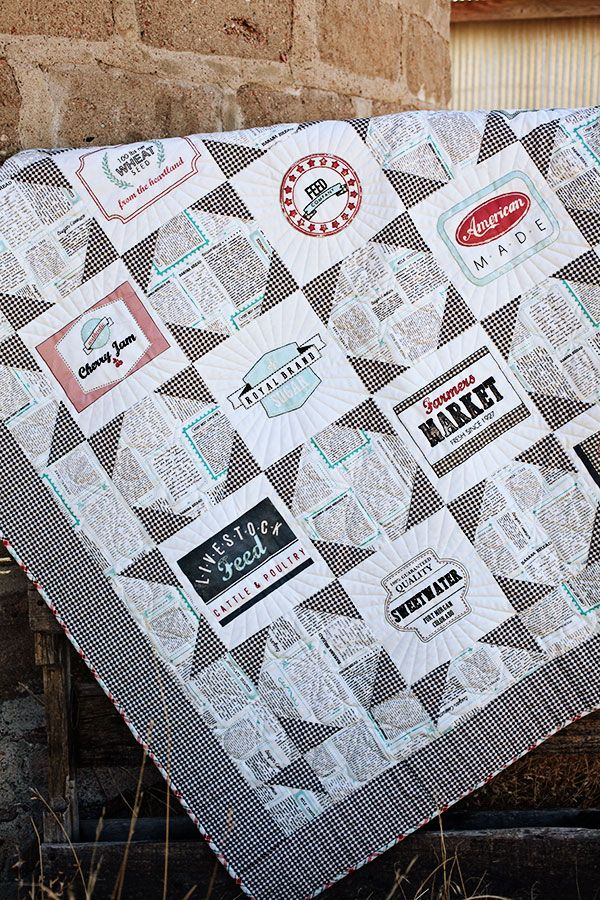 Sweetwater is offering the embroidery blocks to their Feed Company Quilt again!