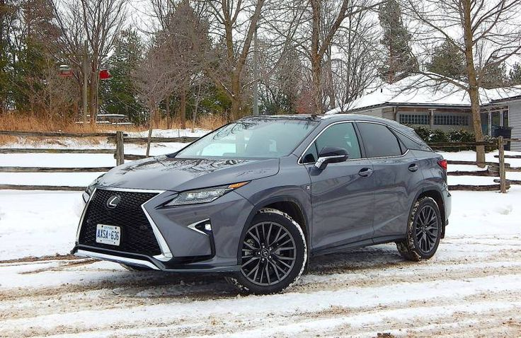 SUV Review 2016 Lexus RX 350 F Sport MACHINES