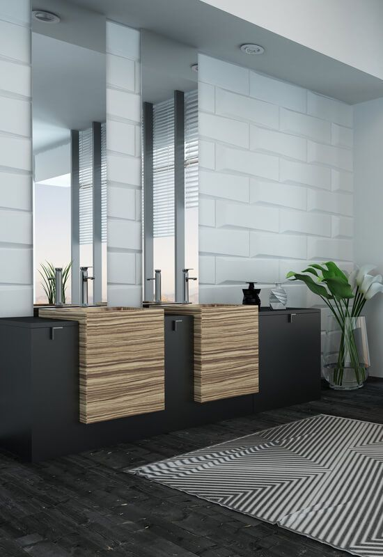 21 Beautiful Modern Bathroom Designs & Ideas | Page 14 of 21 | Worthminer Beautiful Modern Bathroom Designs & Ideas Micoley's picks for #luxuriousBathrooms http://www.Micoley.com