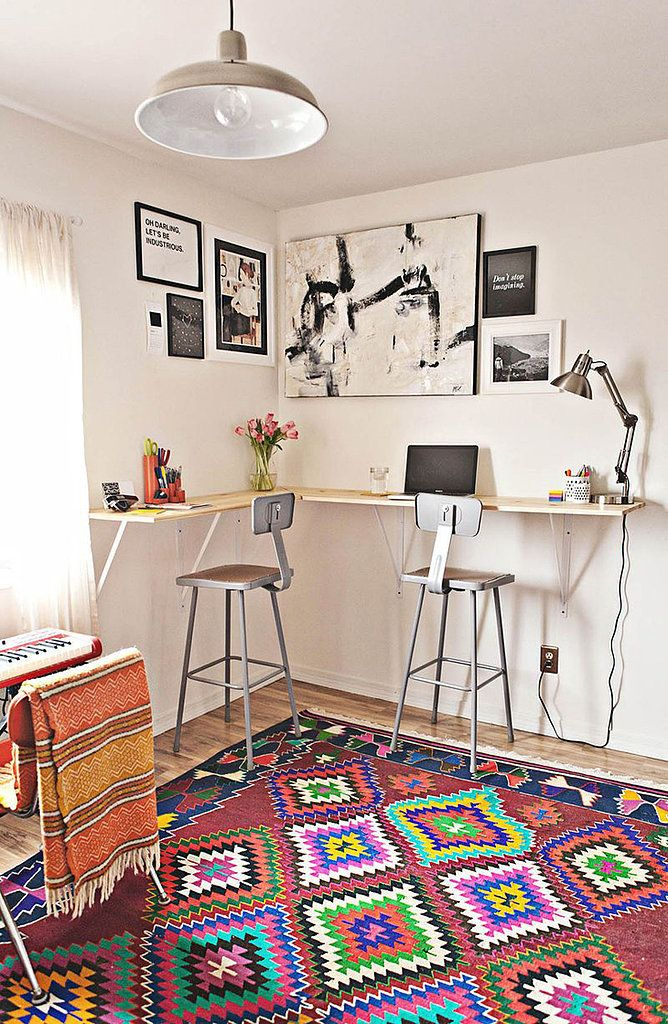 save your back in style with this diy standing desk