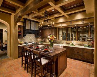 Italian Farmhouse - traditional - kitchen - phoenix - by The Phil Nichols Company