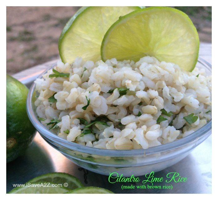 Cilantro Lime Rice Recipe (made with brown rice) As the holidays are among us I find it harder and harder to find time to make a meal with all the activities we are doing. Minute® Rice has sponsored this post but all the love I have for this brand is 100% my own. Besides, IContinue Reading...