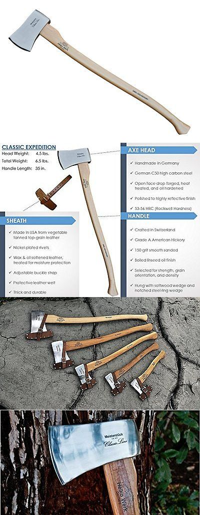 Camping Hatchets and Axes 75234: Helko Classic Expedition - 4.5Lb Felling Axe -> BUY IT NOW ONLY: $203.04 on eBay!