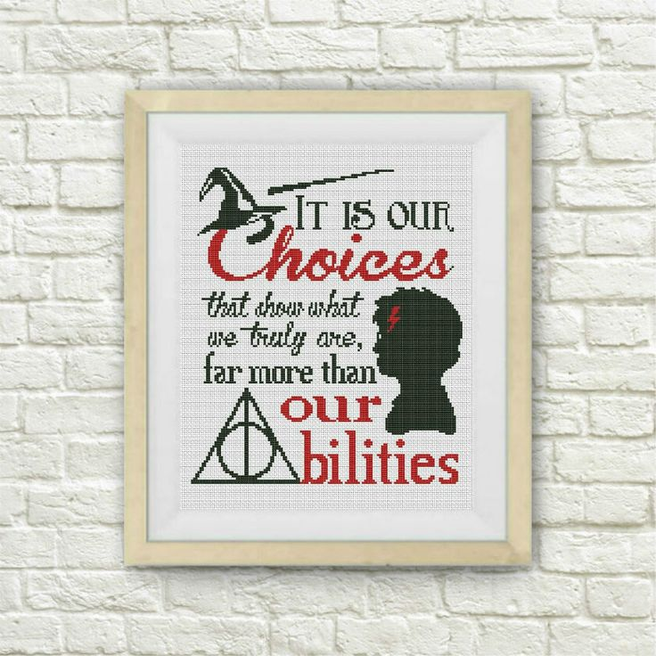 BOGO FREE! Harry Potter Cross Stitch Pattern,Quote Hogwarts Counted Cross Stitch Chart,TV-Movie,Modern Decor,pdf Instant Download,S044 by ElCrossStitch on Etsy https://www.etsy.com/listing/458912046/bogo-free-harry-potter-cross-stitch