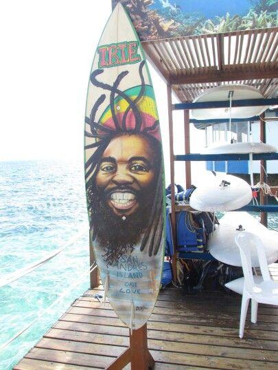San Andrés island, one love!