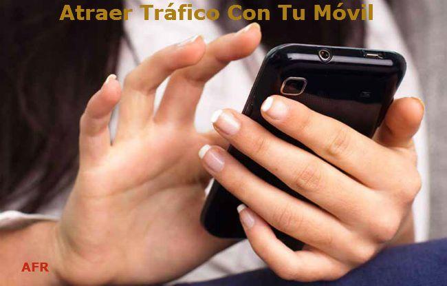 ¿Cómo atraer tráfico a tu negocio con tu móvil y aumentar tus visitantes y tus ventas? Asegúrate de que el tema de tu blog sea amigable para tu móvil.