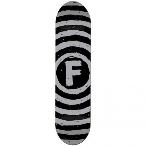 Foundation Skateboards <br> Foundation Vertigo Sketch PP Deck <br> Grey/Black 8x31.5
