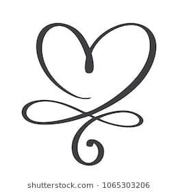 Download Heart Love Sign Forever Infinity Romantic Stock Vector ...