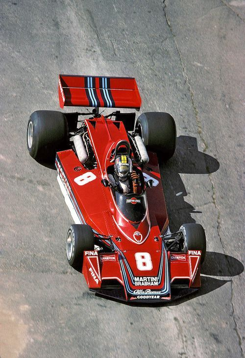 1976 Carlos Pace, Martini Racing Team, Brabham BT45 Alfa Romeo
