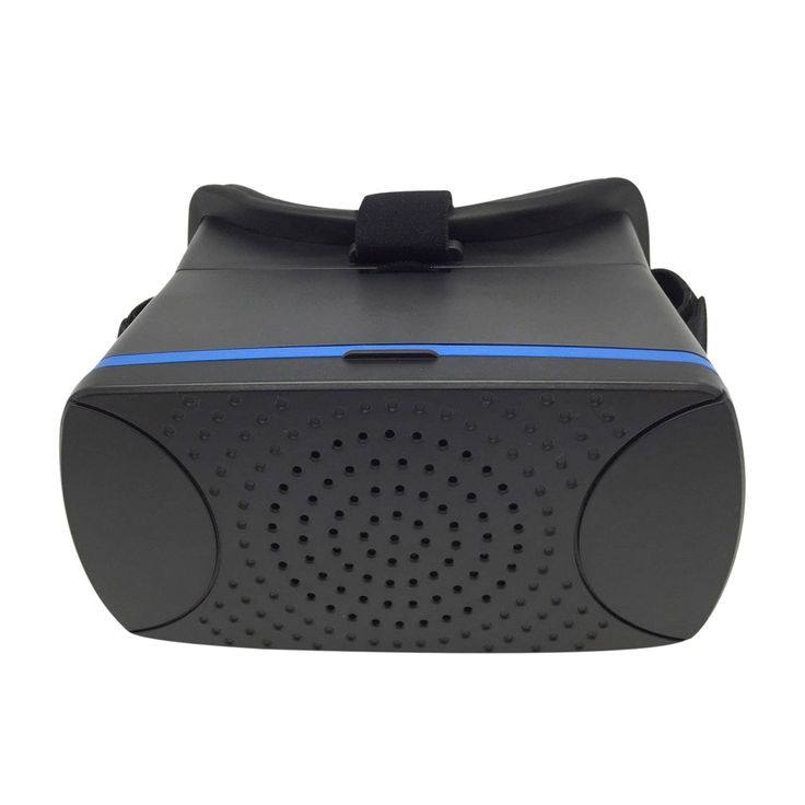 X-Vista Virtual Reality 3D Glasses Cardboard Movie Game for iPhone IOS Android (Black)