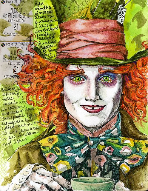 ~ Tim Burton + Johnny Depp = One Happy Lady | Visual Journal by rightside ~