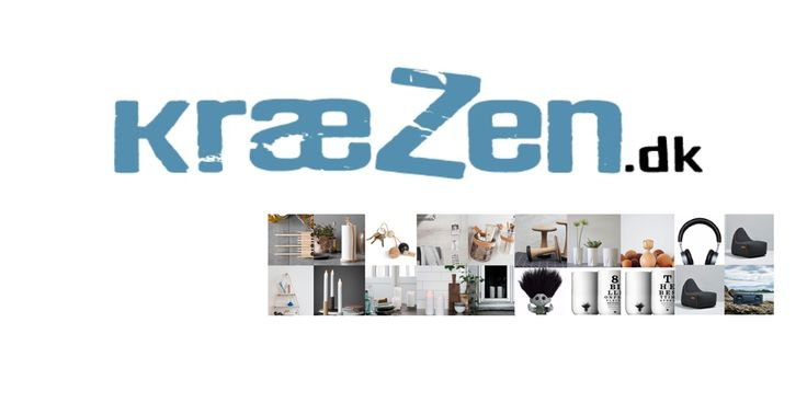 Gavemageren skifter navn til kræZen.dk  Besøg vores nye webshop og se alle de spændende produkter vi har fået hjem.