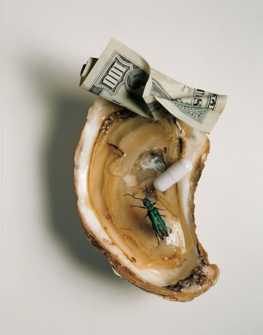 """""""Aphrodisiacs"""" photographed by Irving Penn Vogue US June 1998"""
