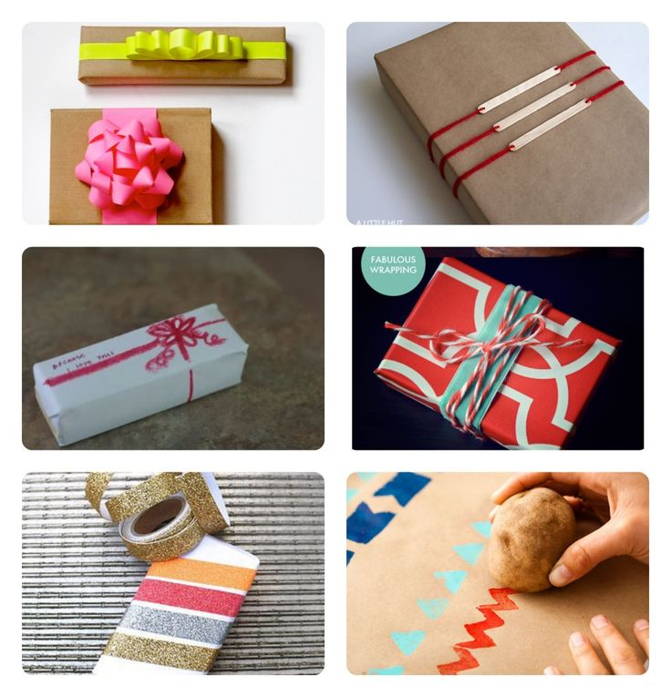#gift #wrapping ideas