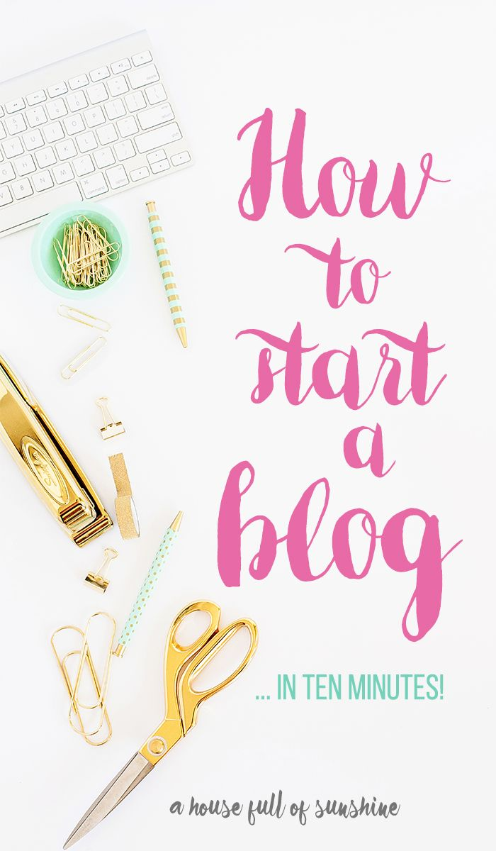 The easiest step-by-step instructions I've ever seen for how to set up a blog…