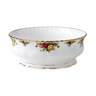Amazon.com: Royal Albert Old Country Roses Serving Bowl: Open Vegetable Bowls: Home & Kitchen