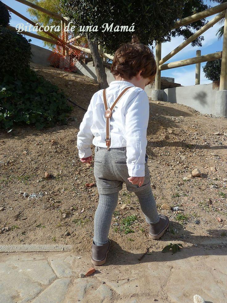 Pantalón niño tirantes