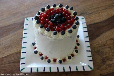 Kerstins kreative Küche: Wassermelonen Torte
