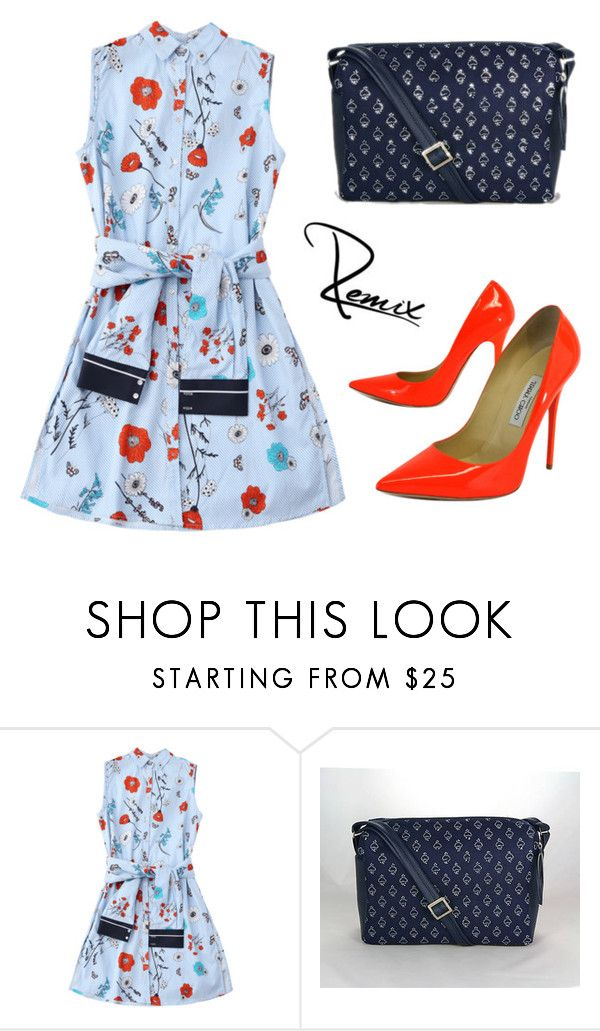"""""""Romantic tone in tone"""" by aleva on Polyvore featuring Jimmy Choo"""