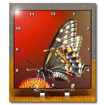 dc_9048_1 SmudgeArt Flower Art Designs - Red - Desk Clocks - 6x6 Desk Clock 3dRose http://www.amazon.com/dp/B004JD9CC6/ref=cm_sw_r_pi_dp_aTQbwb0WATBWE