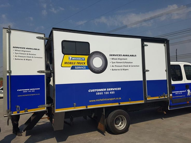 Michelin Mobile unit kitted out by Equipment Africa