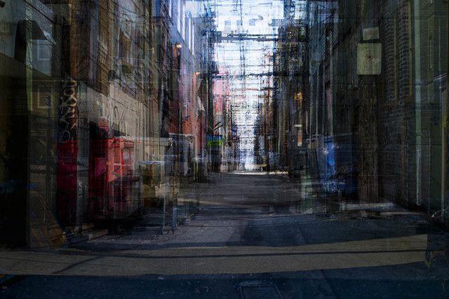 Bill Anderson, 'Alleys,' 2013, Peter Robertson Gallery