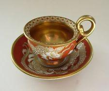 Rosenthal Decor Rot Drache Tasse Mokkatasse Espressotasse Jugendstil