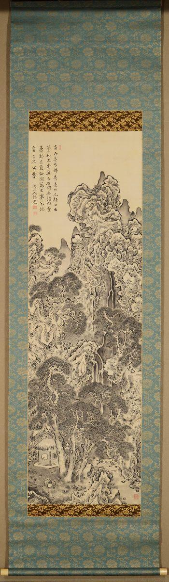 Fukuda Kodojin 福田古道人 (1865-1944), Miyama Retreat.