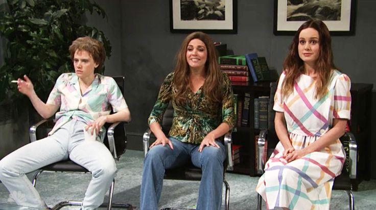 Kate McKinnon Deserves an Award for This SNL Skit with Brie Larson