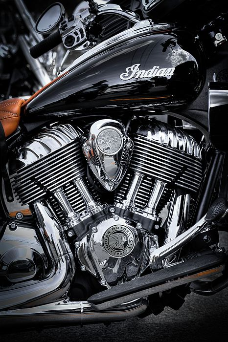 The 2016 Indian Springfield Motorcycle. #Indian #Motorcycles