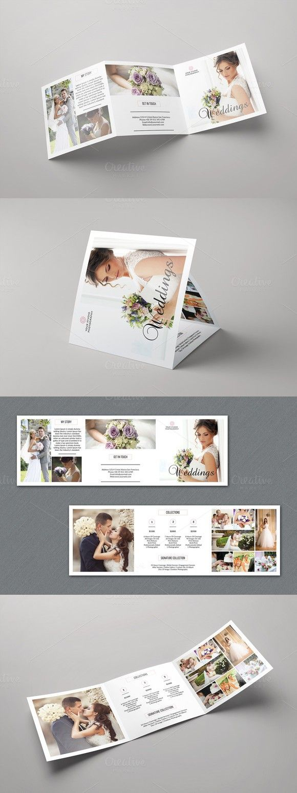 Trifold Photography Brochure V538