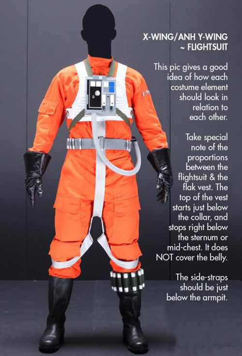 Rebel Legion :: View topic - Rebel Pilot Costume Standards