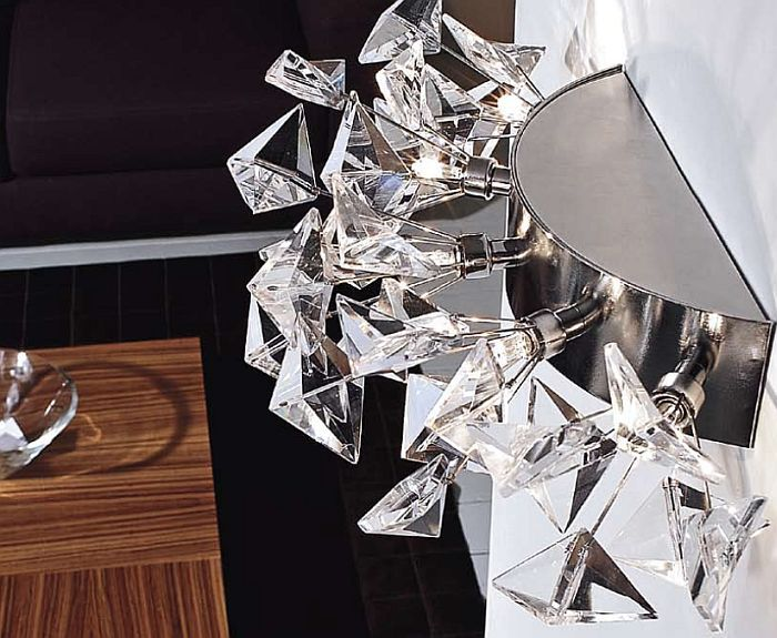 Kite Bevelled Italian Glass Wall U0026 Ceiling Light By Marchetti Http://www.