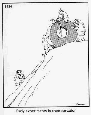 The Far Side is one of the best comics ever. :)                                                                                                                                                     More